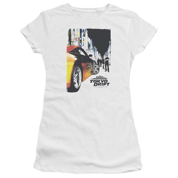 Tokyo Drift Poster Premium Bella Junior Sheer Jersey
