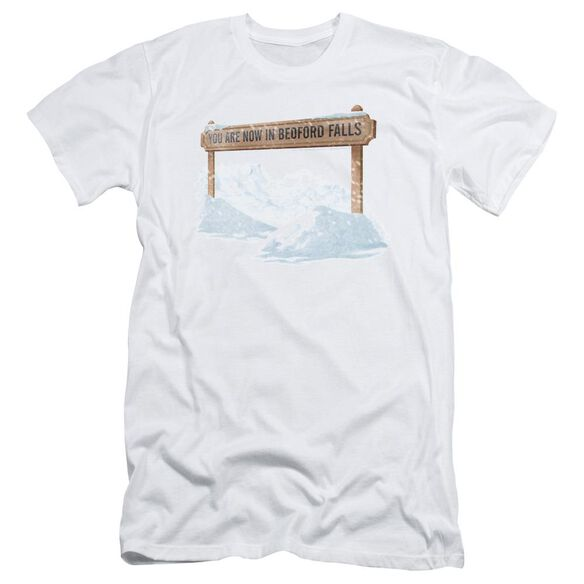 Its A Wonderful Life Bedford Falls Short Sleeve Adult T-Shirt