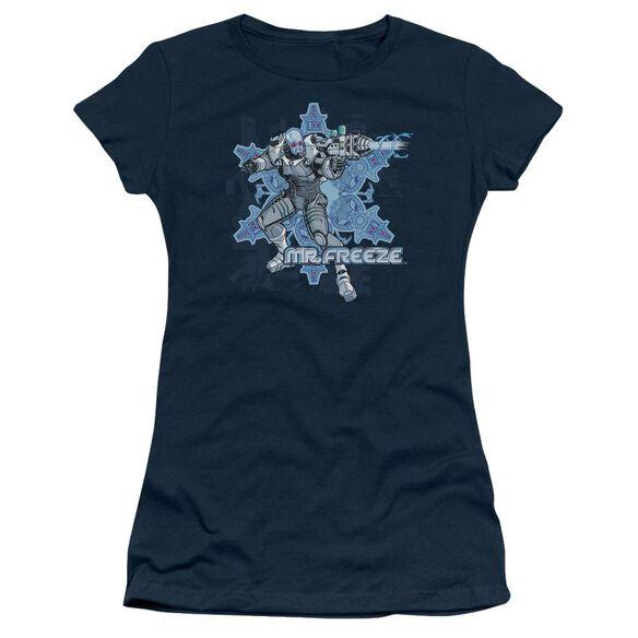 Batman Mr Freeze Short Sleeve Junior Sheer T-Shirt