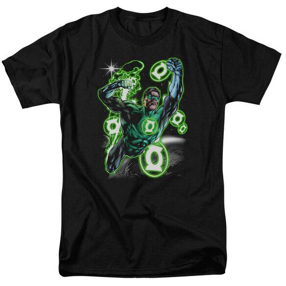 Green Lantern Earth Sector Short Sleeve Adult T-Shirt