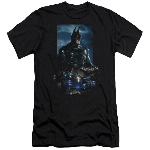 Batman Arkham Knight Batmobile Short Sleeve Adult T-Shirt