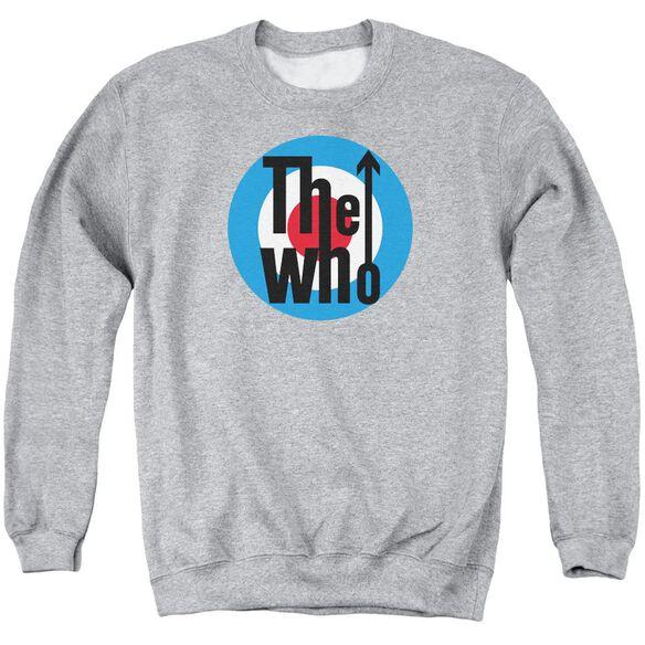 The Who Logo Adult Crewneck Sweatshirt Athletic