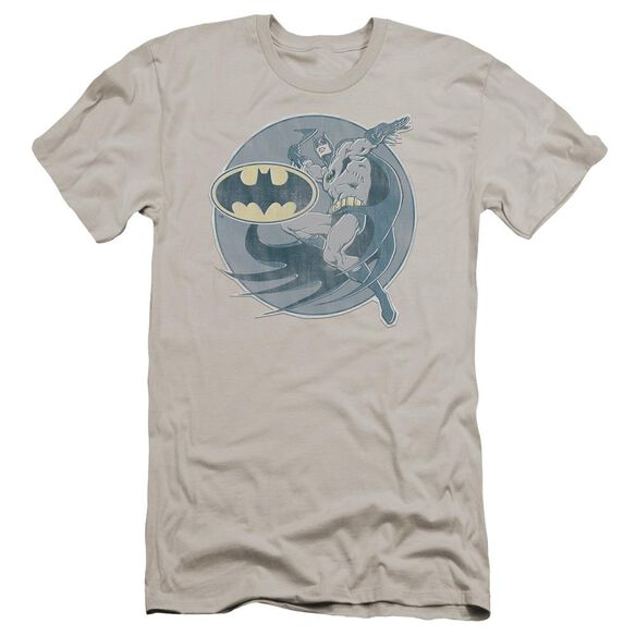 Dco Retro Batman Iron On Premuim Canvas Adult Slim Fit