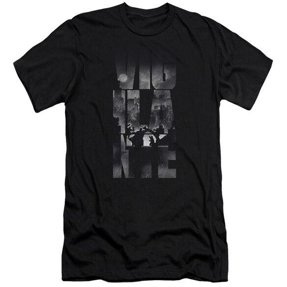 Batman V Superman Rainy Viglante Short Sleeve Adult T-Shirt