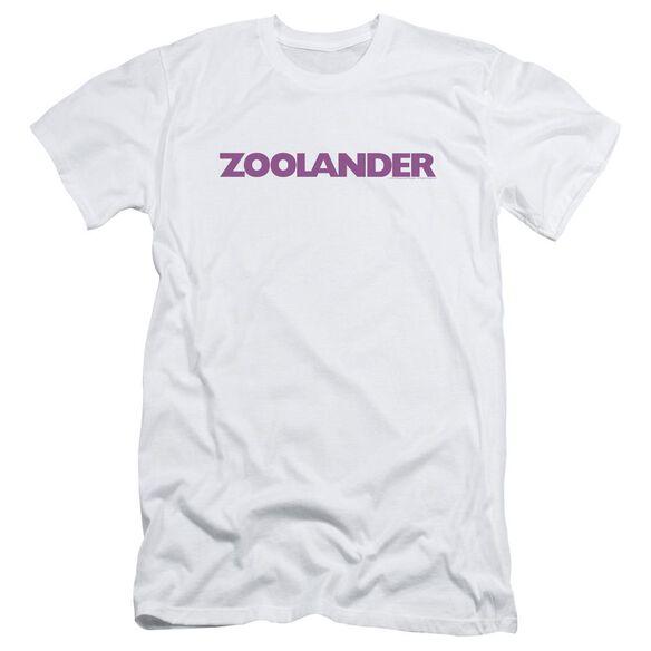 Zoolander Logo Short Sleeve Adult T-Shirt