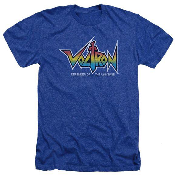 Voltron Logo Adult Heather Royal
