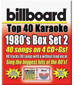 Various Artists - Party Tyme Karaoke: Billboard 1980's Top 40 Karaoke Box Set, Vol. 2