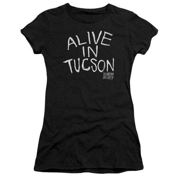 Last Man On Earth Alive In Tucson Premium Bella Junior Sheer Jersey