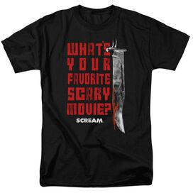 Scream Favorite Short Sleeve Adult T-Shirt