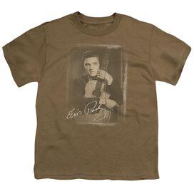 Elvis Guitar Man Short Sleeve Youth Safari T-Shirt