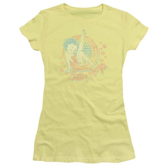 Betty Boop Classy Dame Short Sleeve Junior Sheer T-Shirt
