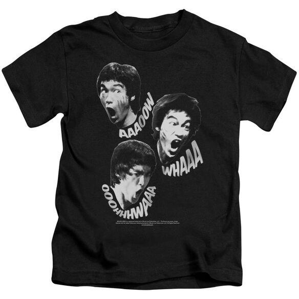 Bruce Lee Sounds Of The Dragon Short Sleeve Juvenile Black T-Shirt