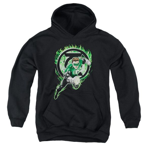Green Lantern Space Cop Youth Pull Over Hoodie