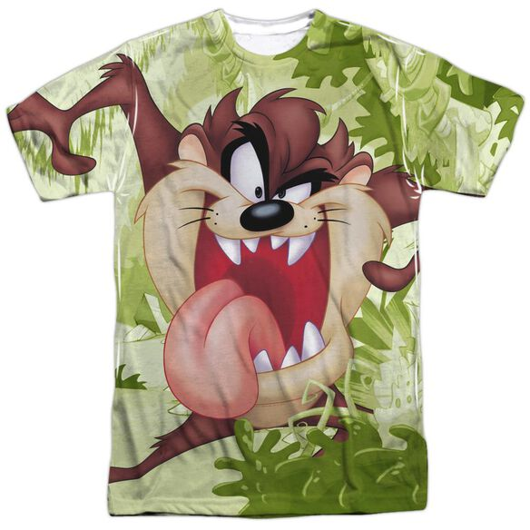 Looney Tunes Taz Short Sleeve Adult Poly Crew T-Shirt