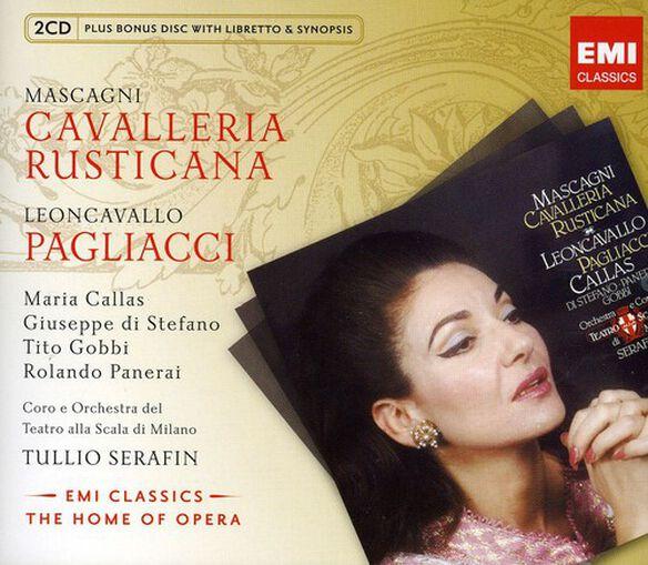 Mascagni/ Leoncavallo/ Callas/ Di Stefano - Cavalleria Rusticana / I Pagliacci