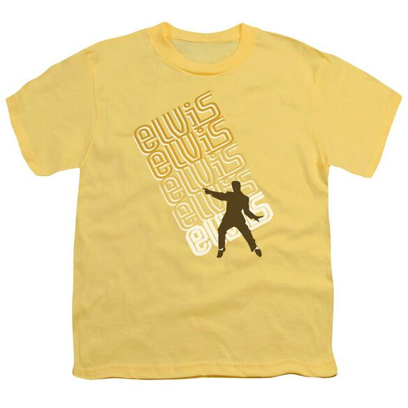 Elvis Pointing Short Sleeve Youth T-Shirt