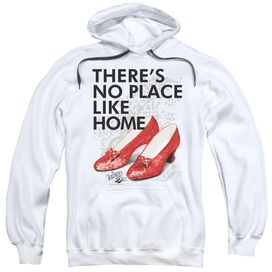 Wizard Of Oz No Place Like Home Adult Pull Over Hoodie