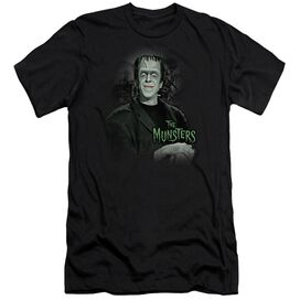 The Munsters Man Of The House-premuim Canvas Adult Slim
