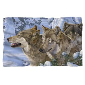 Wild Wings Winters Warmth 2 Woven Throw