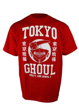 Tokyo Ghoul What's 1000 Minus 7 Red T-Shirt