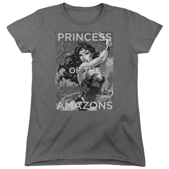 Jla Princess Of The Amazons Short Sleeve Womens Tee T-Shirt