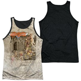 Aerosmith Toys In The Attic Adult Poly Tank Top Black Back