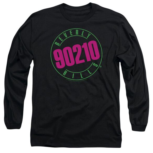 90210 Neon Long Sleeve Adult T-Shirt