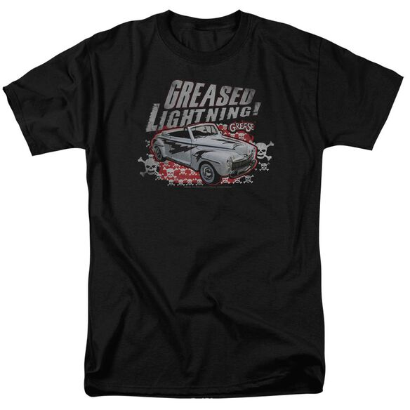 Grease Greased Lightening Short Sleeve Adult T-Shirt