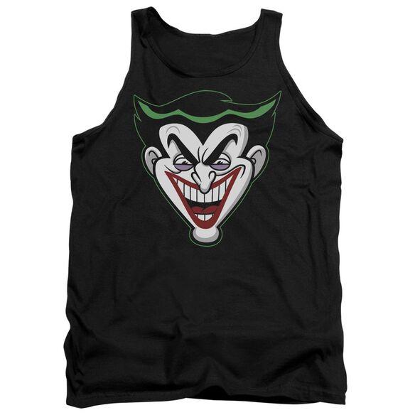 Batman Bb Animated Joker Head Adult Tank