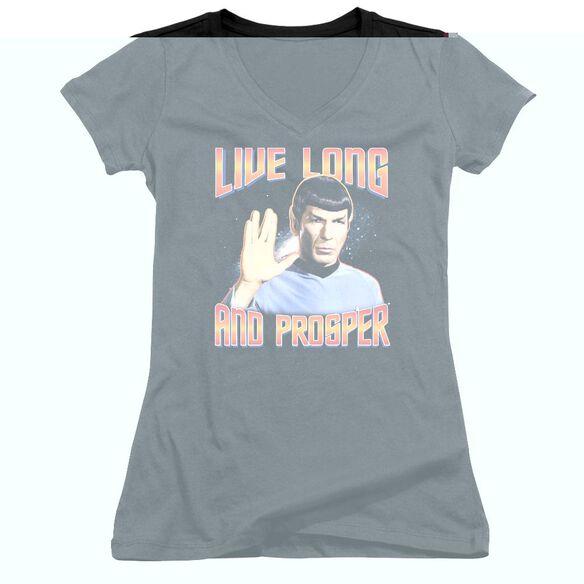 St Original Live Long And Prosper - Junior V-neck - Black