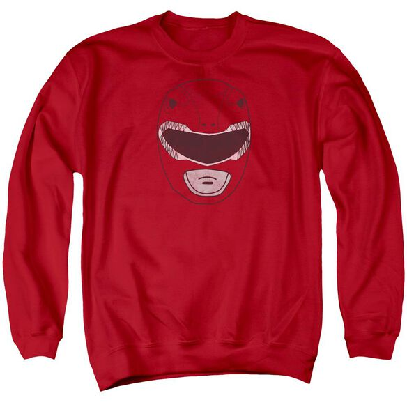 Power Rangers Ranger Mask Adult Crewneck Sweatshirt