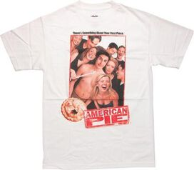 American Pie Group Photo White T-Shirt