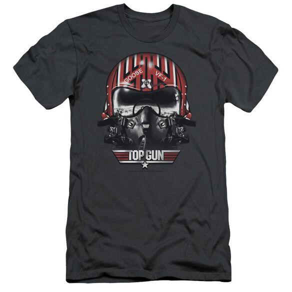 Top Gun Goose Helmet Short Sleeve Adult T-Shirt