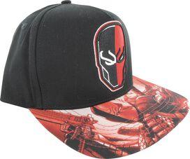 Deathstroke Head Dyed Visor Snap Hat