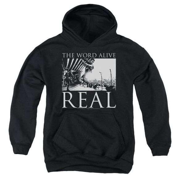 The Word Alive Live Shot Youth Pull Over Hoodie