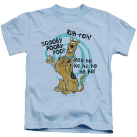 Scooby Doo Quoted Short Sleeve Juvenile Light T-Shirt