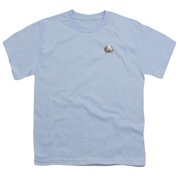 Star Trek Tng Science Emblem Short Sleeve Youth T-Shirt