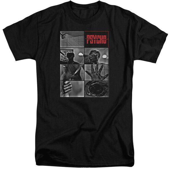 Psycho Shower Scene Short Sleeve Adult Tall T-Shirt