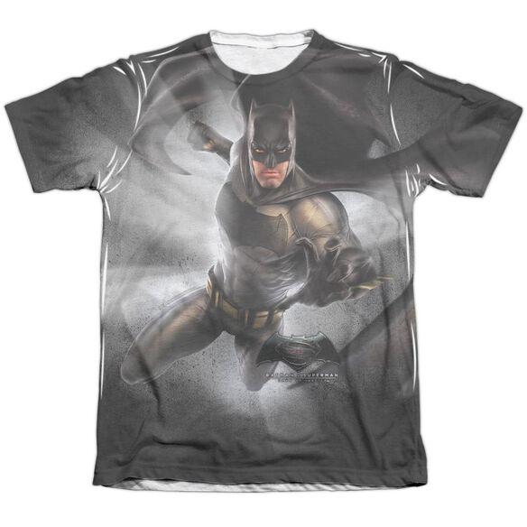 Batman Vs Superman Batman Light Adult Poly Cotton Short Sleeve Tee T-Shirt