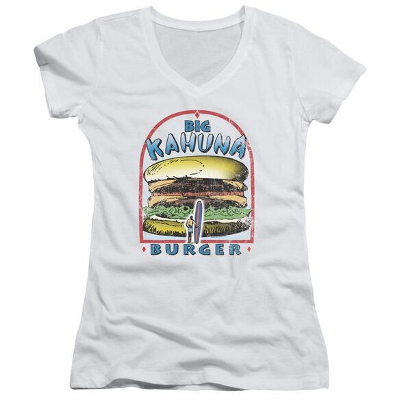 Pulp Fiction Big Kahuna Burger Junior V Neck T-Shirt