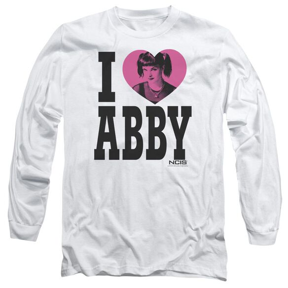 Ncis I Heart Abby Long Sleeve Adult T-Shirt