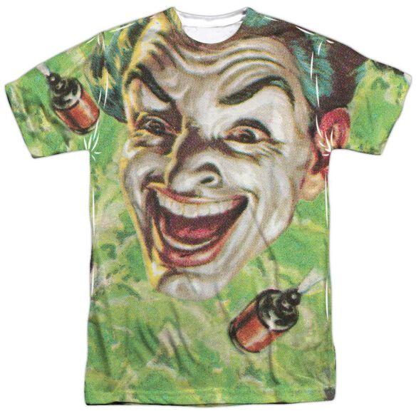 Batman Classic Tv Laugh Gas Short Sleeve Adult Poly Crew T-Shirt