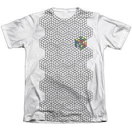 Rubiks Cube One Colored Adult Poly Cotton Short Sleeve Tee T-Shirt