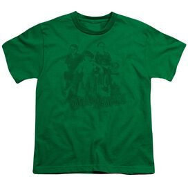 LITTLE RASCALS THE GANG - S/S YOUTH 18/1 - KELLY GREEN T-Shirt