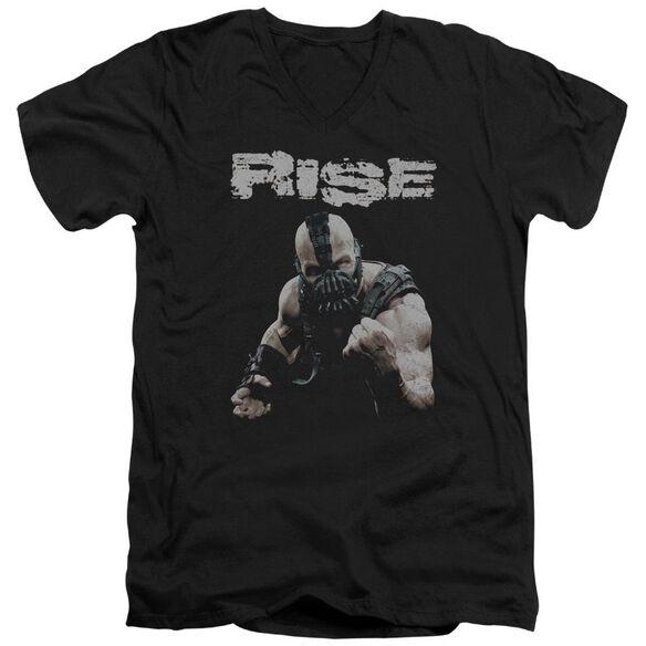Dark Knight Rises Rise Short Sleeve Adult V Neck T-Shirt