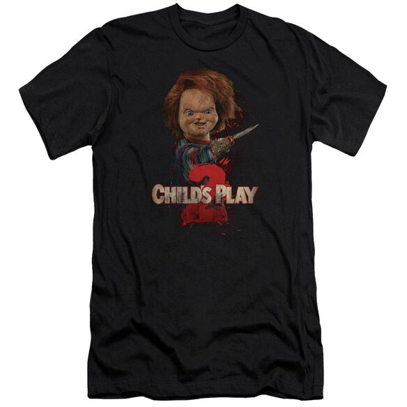 Childs Play 2 Heres Chucky Premuim Canvas Adult Slim Fit