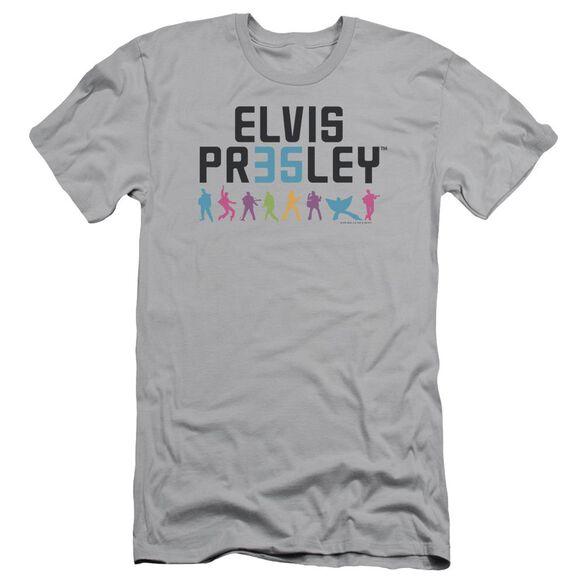 ELVIS PRESLEY 35 - S/S ADULT 30/1 - SILVER T-Shirt