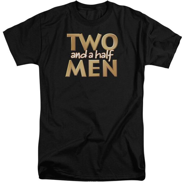 Two And A Half Men Logo Short Sleeve Adult Tall T-Shirt