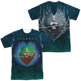 Journey Evolution Sub (Front Back Print) Short Sleeve Adult Poly Crew T-Shirt