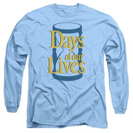 Days Of Our Lives Hourglass Long Sleeve Adult Carolina T-Shirt